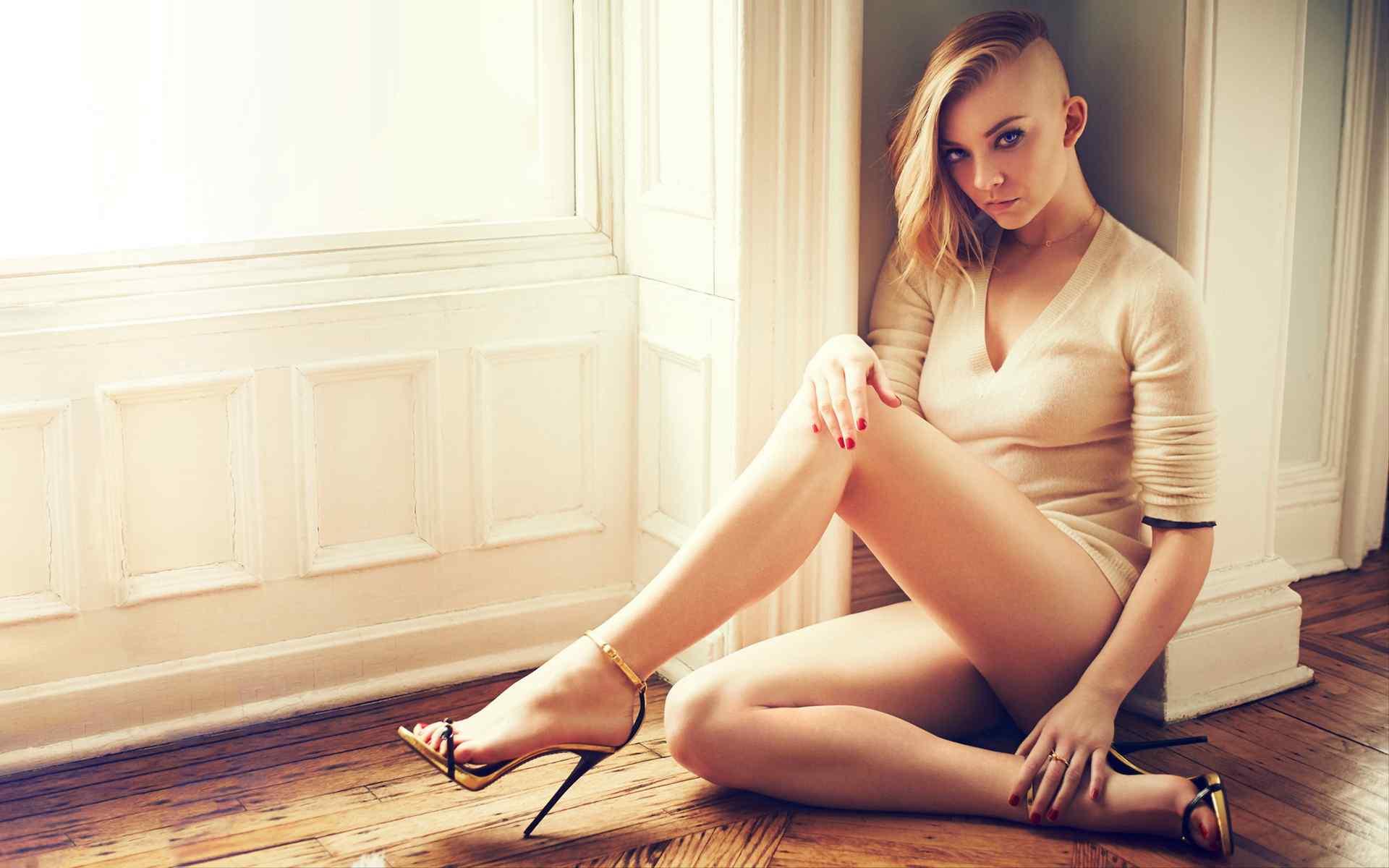 眼神诱惑系列欧美时尚美女另类写真图片桌面壁纸下载