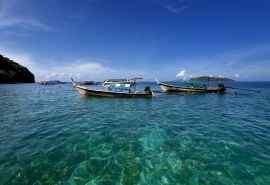 海洋小船泰国普吉