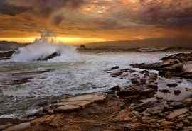 加利福尼亚海边风