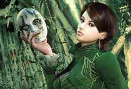 游戏绿林性感美女