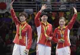 2016里约奥运女乒