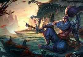英雄联盟LOL疾风剑豪图片桌面壁纸