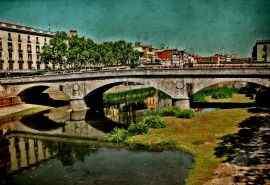 西班牙唯美建筑高清图片桌面壁纸