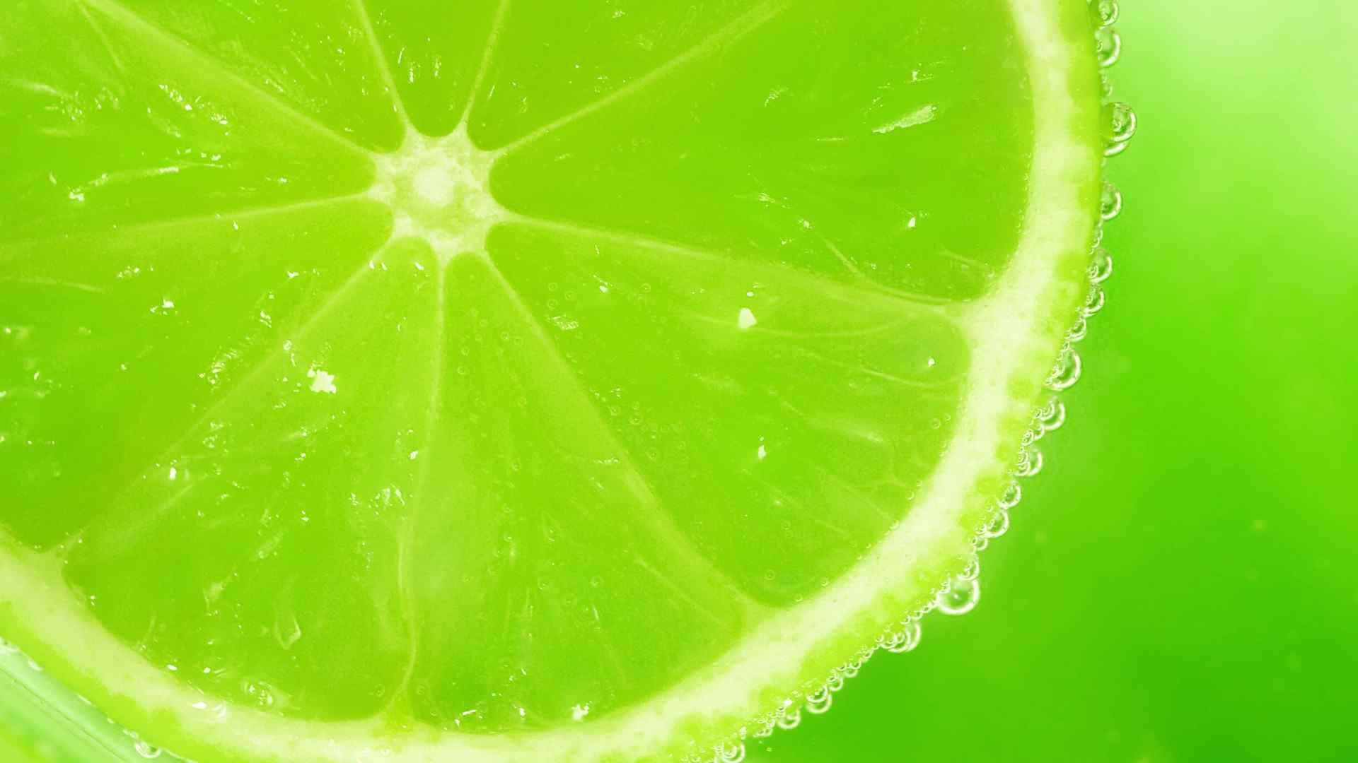 夏日青柠檬小清新高清桌面壁纸