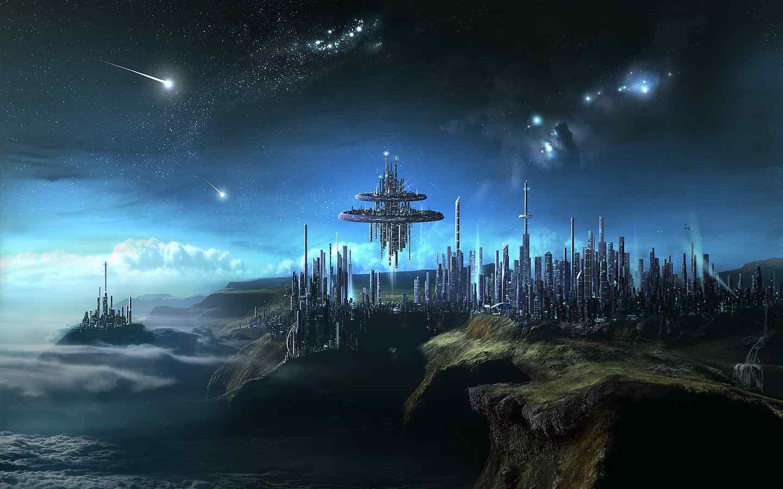 科幻星球高清桌面壁纸下载