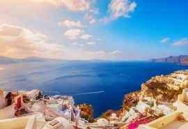 希腊圣托里尼岛唯