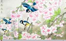 花鸟写意工笔画精