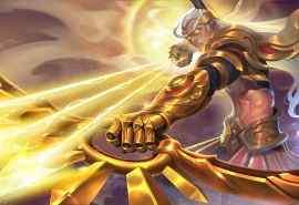 王者荣耀后羿精灵王阿尔法小队半神之弓电脑壁纸