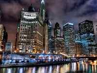 唯美芝加哥城市风