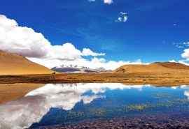美丽的西藏阿里风景桌面壁纸