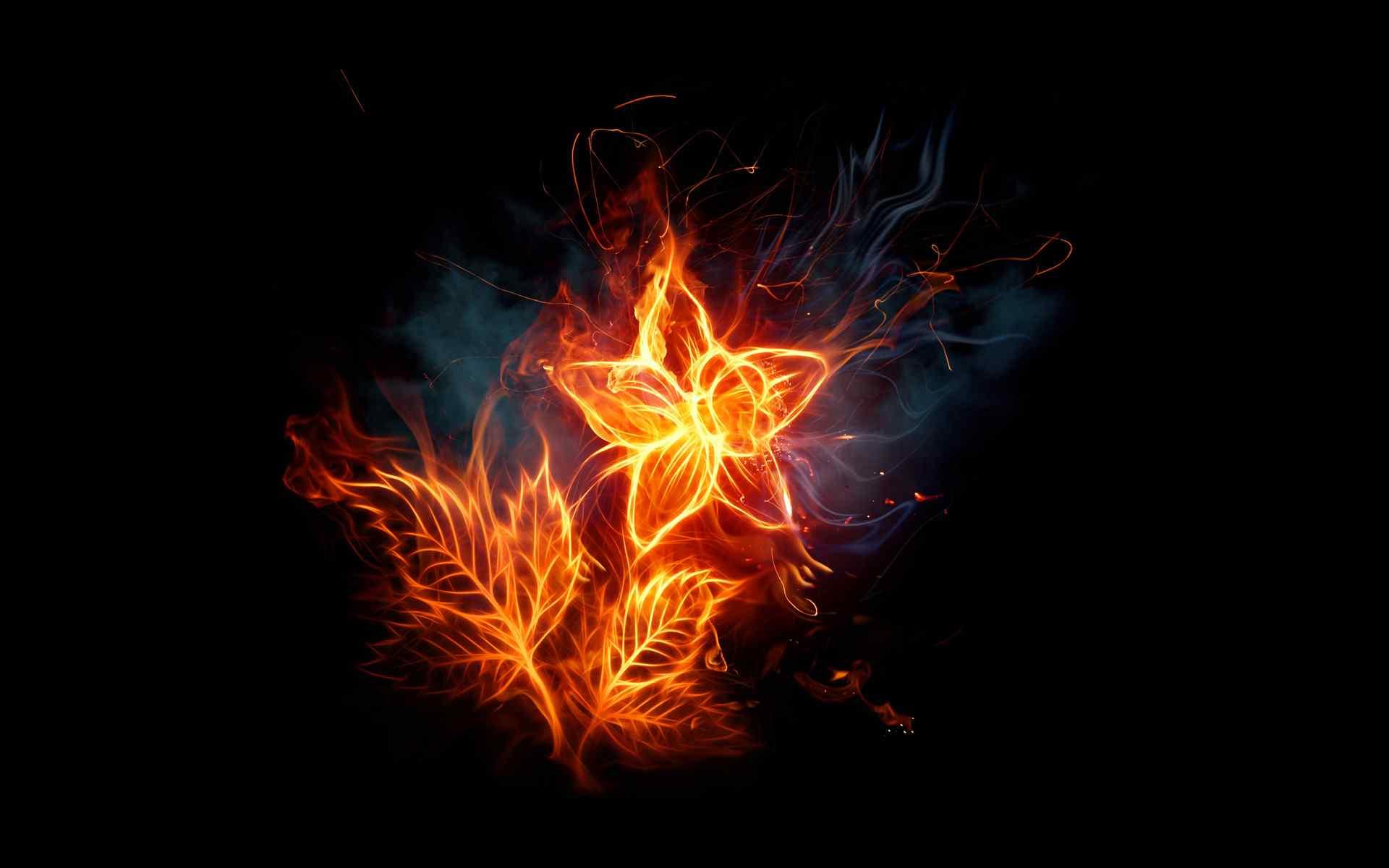 火焰CG效果创意设计精美桌面壁纸图片下载