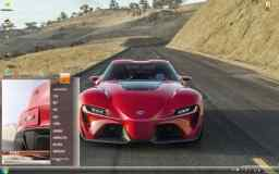 红色丰田超级概念