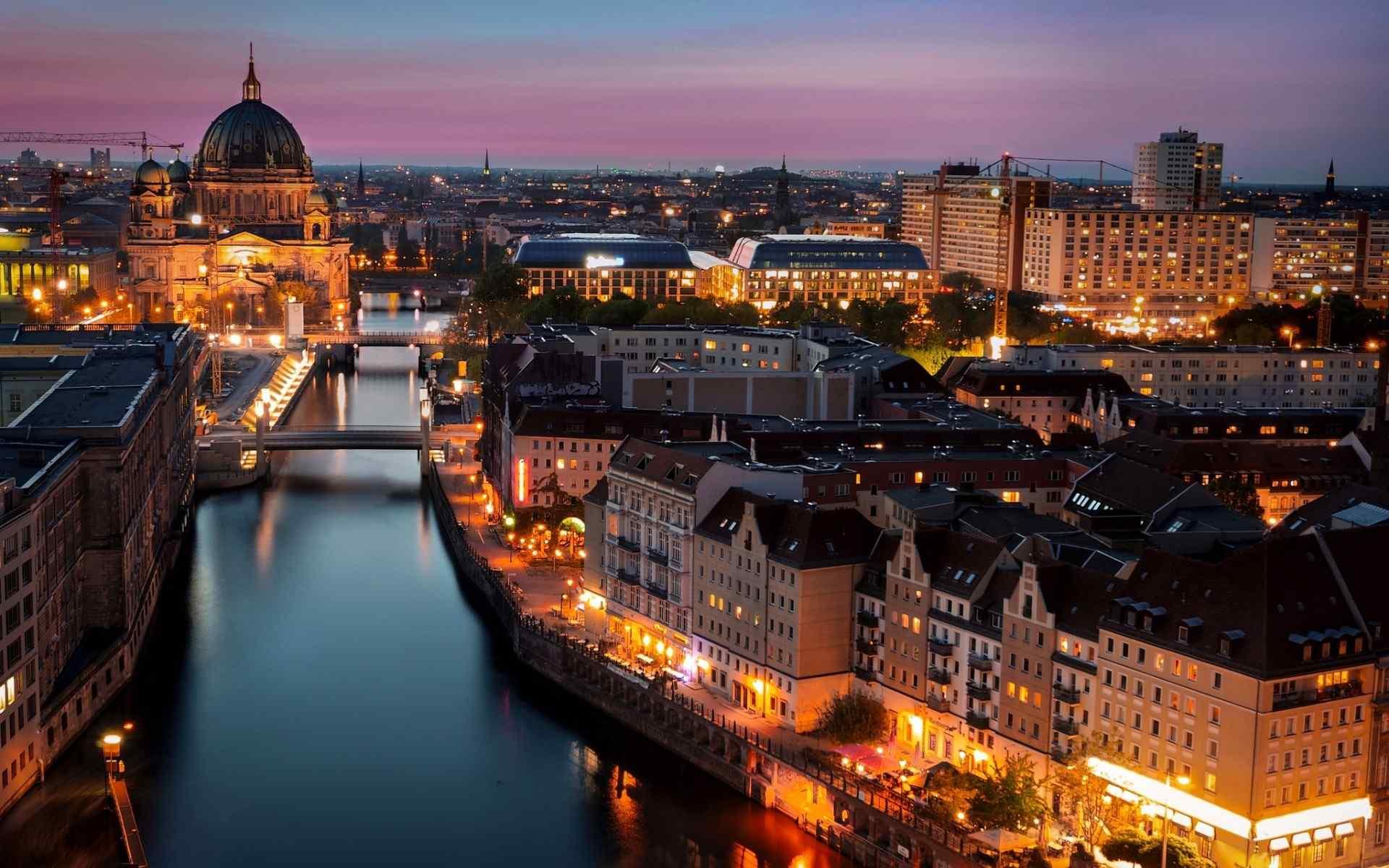 柏林城市风景高清电脑桌面壁纸