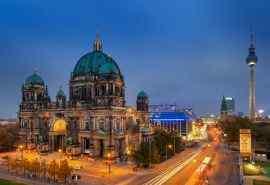 柏林城市风景高清