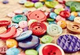 彩色的小纽扣创意
