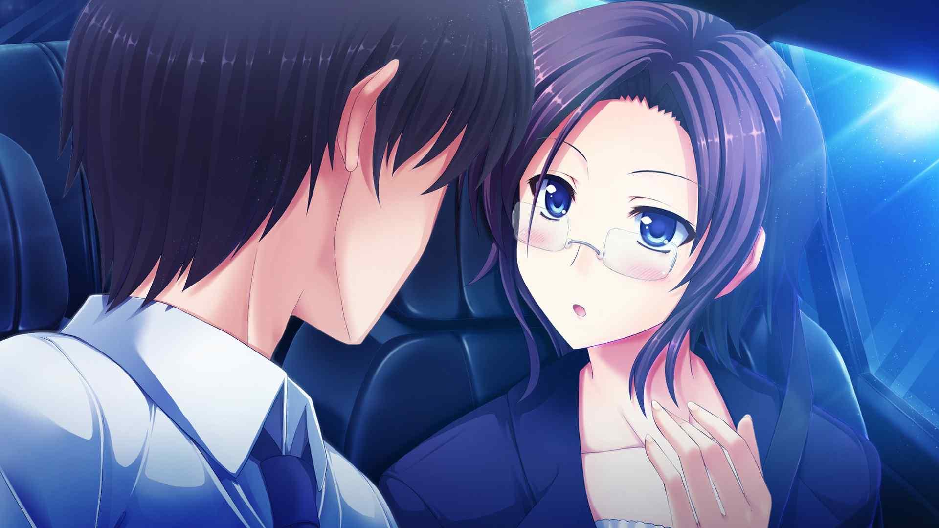 日本动漫情侣浪漫唯美图片桌面壁纸图片