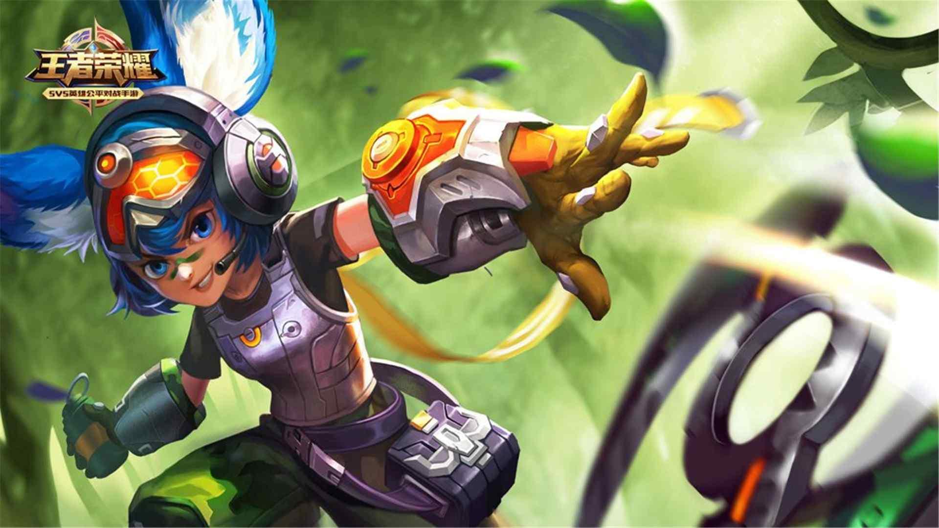 《王者荣耀》是由腾讯游戏开发并运行的一款运营在Android、IOS平台上的MOBA类手游,于2015年11月26日在Android、IOS平台上正式公测,游戏前期使用名称有《英雄战迹》、《王者联盟》。游戏是类dota手游,手游《王者荣耀》人物英雄高清电脑壁纸是桌面天下的小编为你推荐的,喜欢的朋友可以到桌面天下网来下载。桌面天下为你推荐最新、最好看的壁纸,欢迎你的关注。