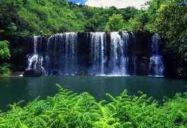 唯美大自然瀑布景