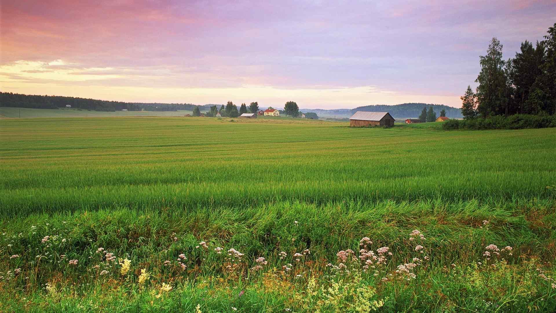 好看的北欧风情高清风景图片