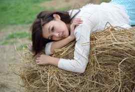 清纯农家姑娘写真