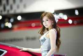 韩国车展高清美女