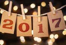 2017年新年创意高清桌面图片