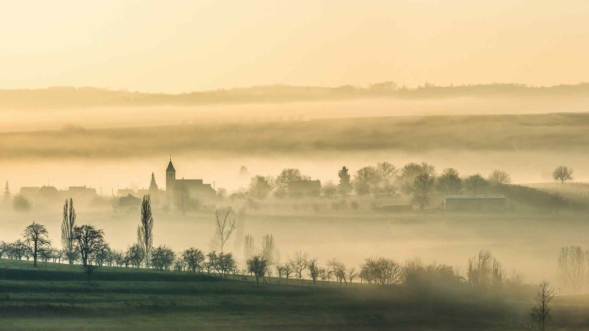 唯美充滿意境的大自然美景高清壁紙圖片