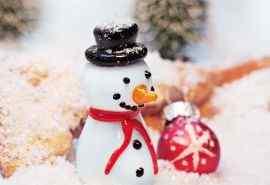 可爱圣诞小雪人玩