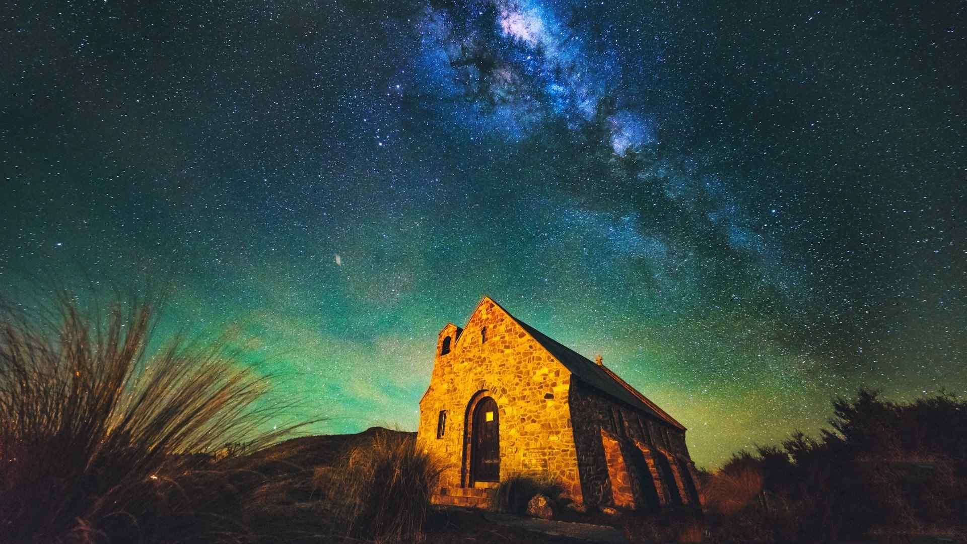 好看的新西兰风景图片高清壁纸