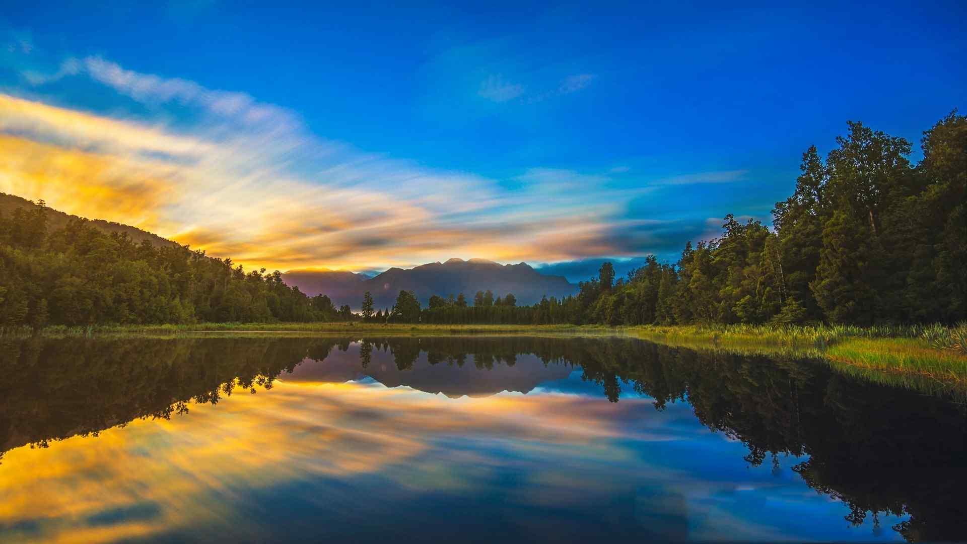好看的新西蘭風景圖片高清壁紙