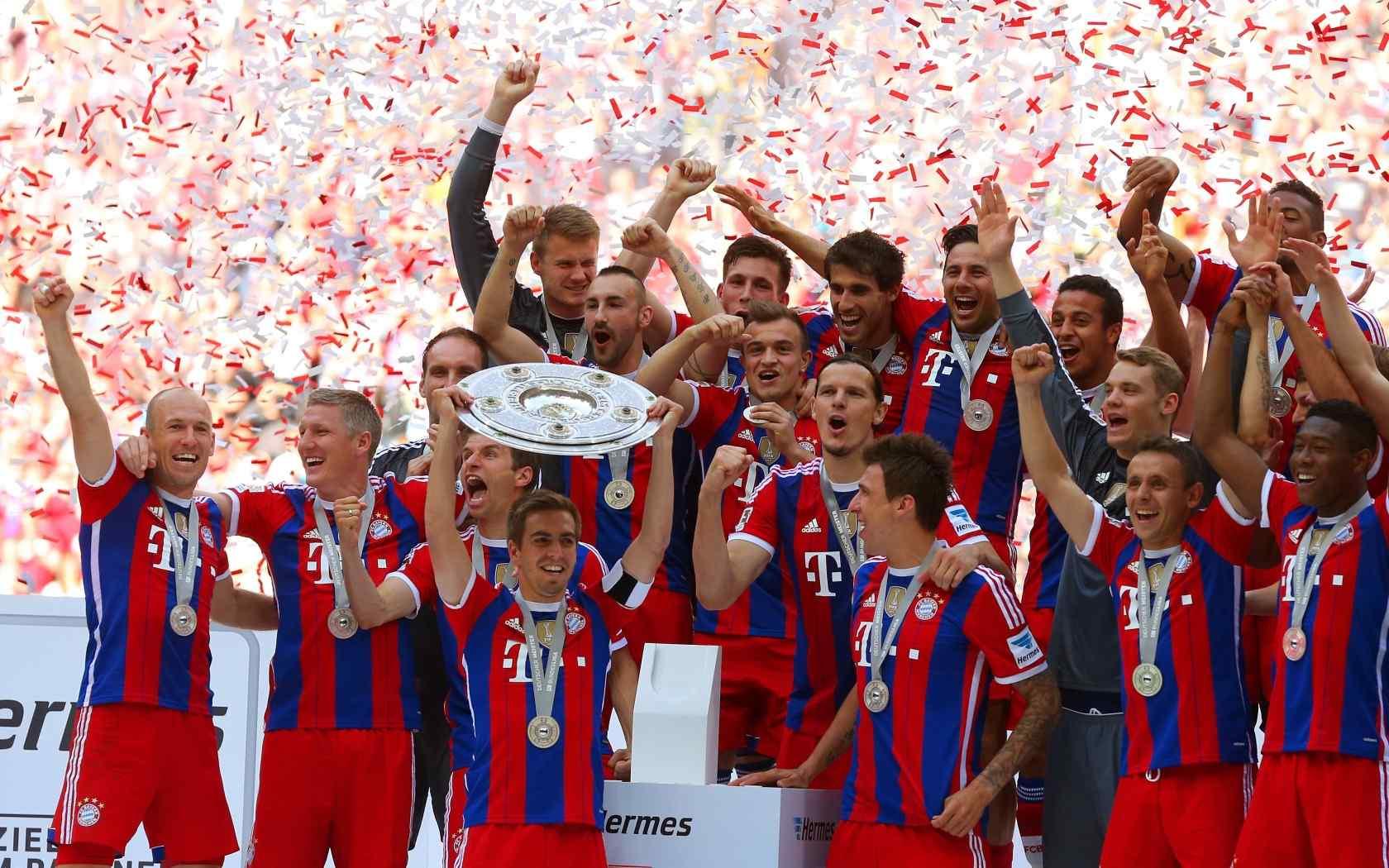拜仁慕尼黑足球比赛高清壁纸