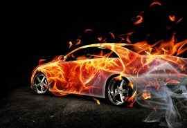 超酷的烈焰跑车霸