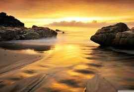 唯美海上美景图片