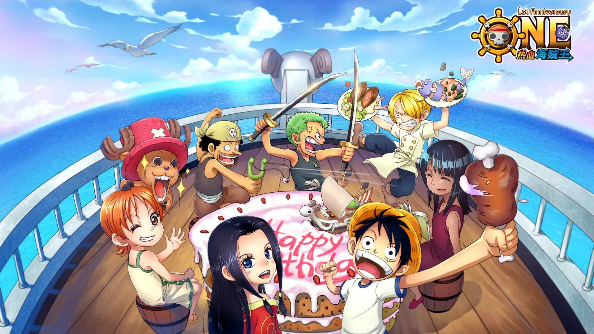 动漫《海贼王》高清图片桌面壁纸