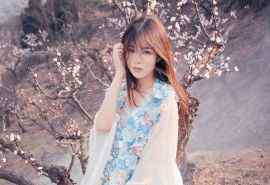 日系美女唯美写真