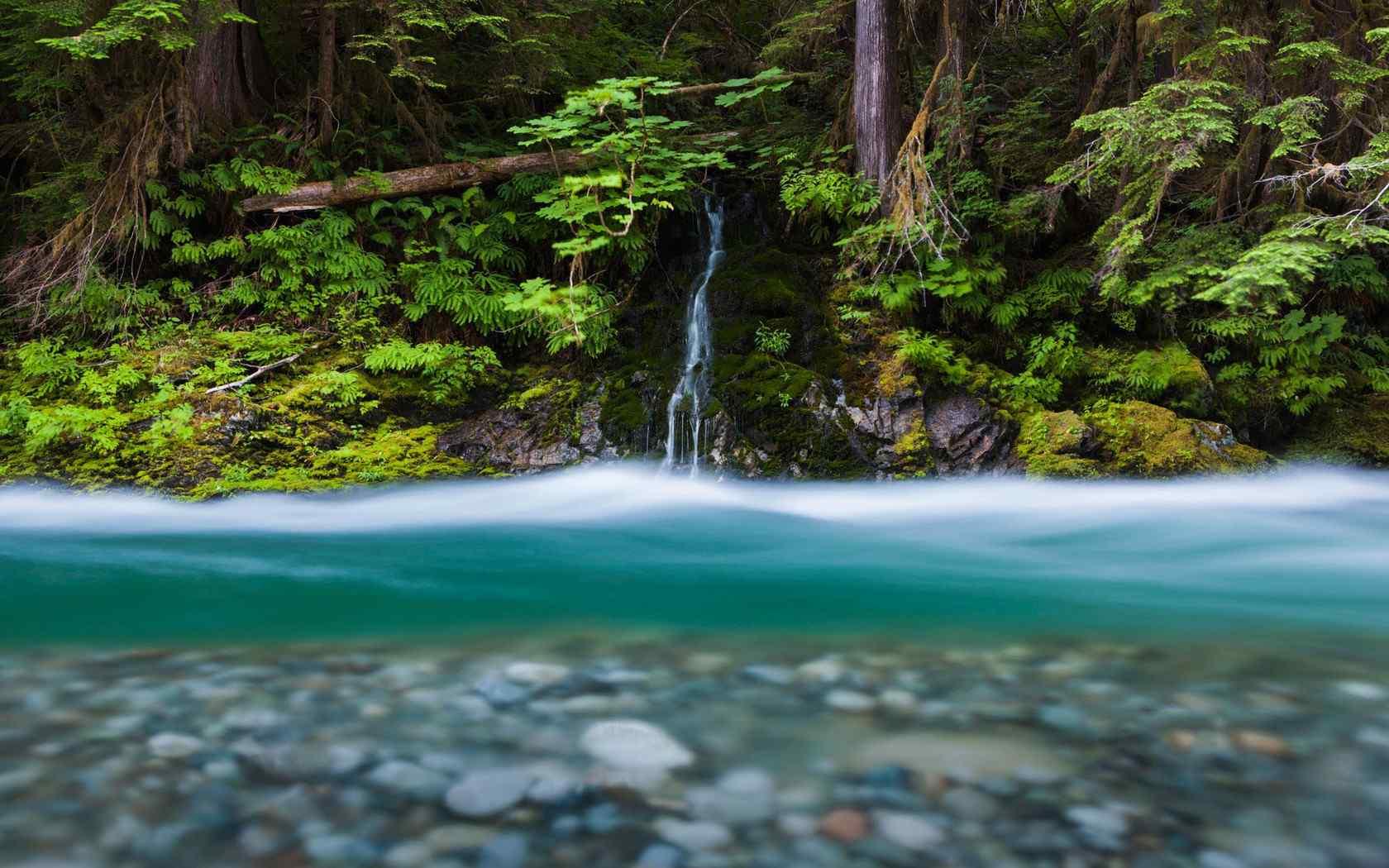 绿色山水风景唯美图片高清桌面壁纸图片