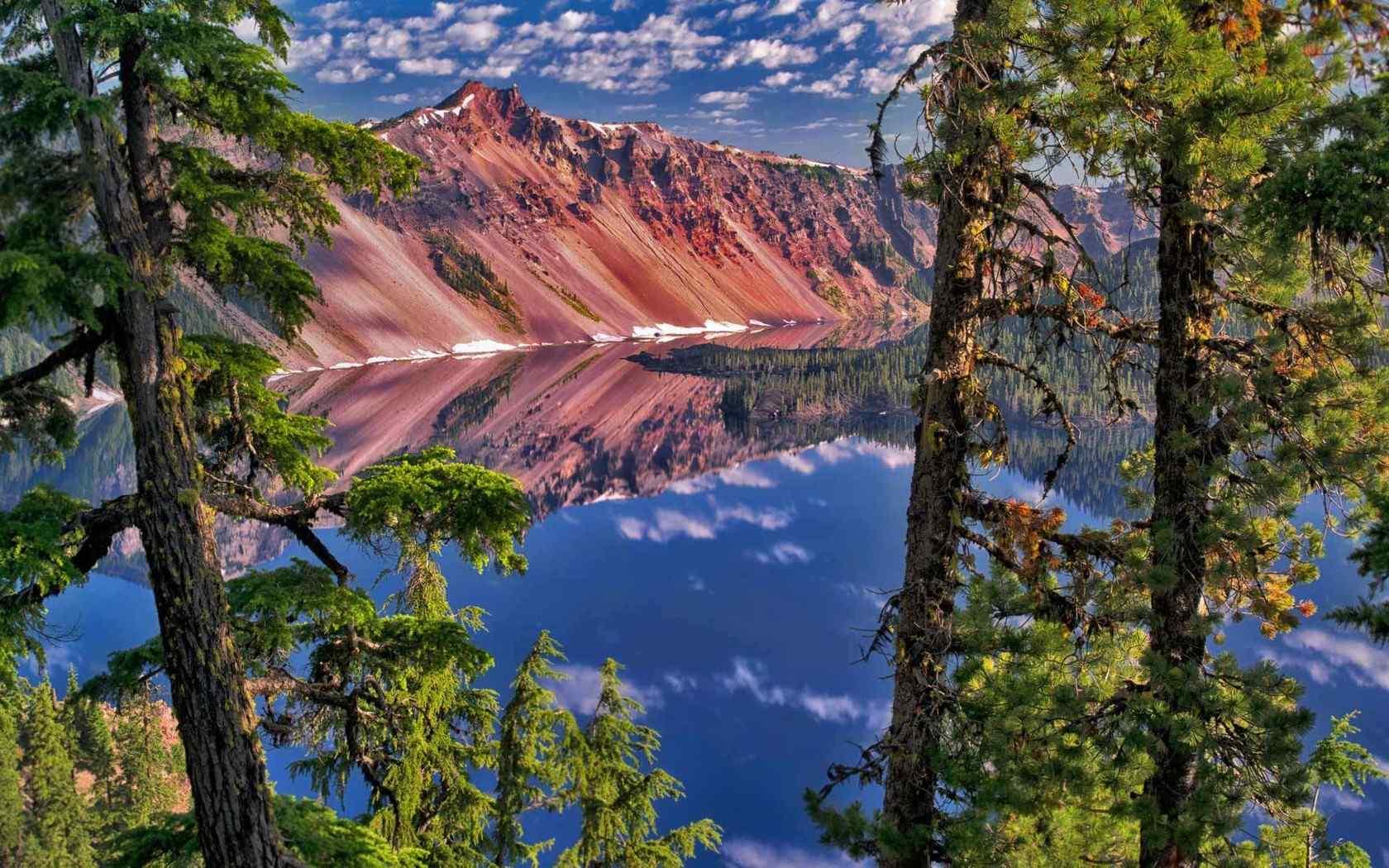 绿色山水风景唯美图片高清桌面壁纸