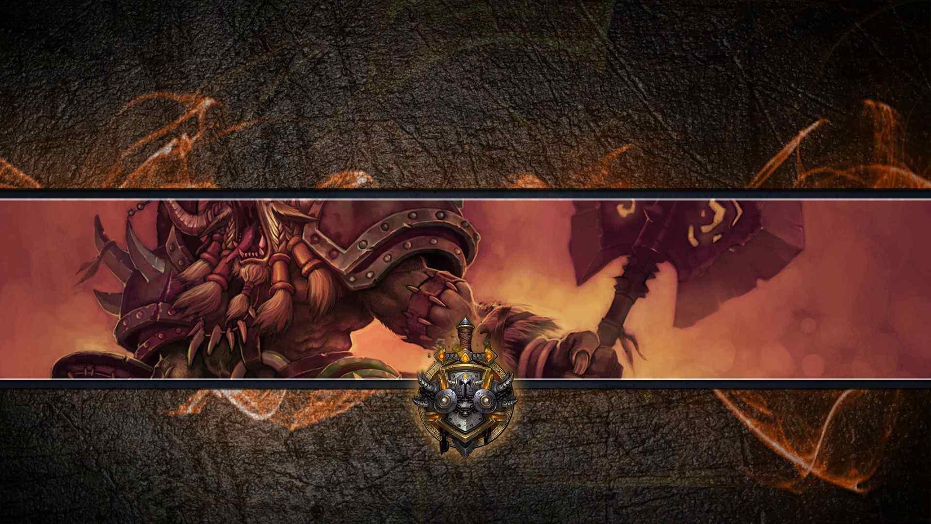 魔兽世界创意桌面壁纸