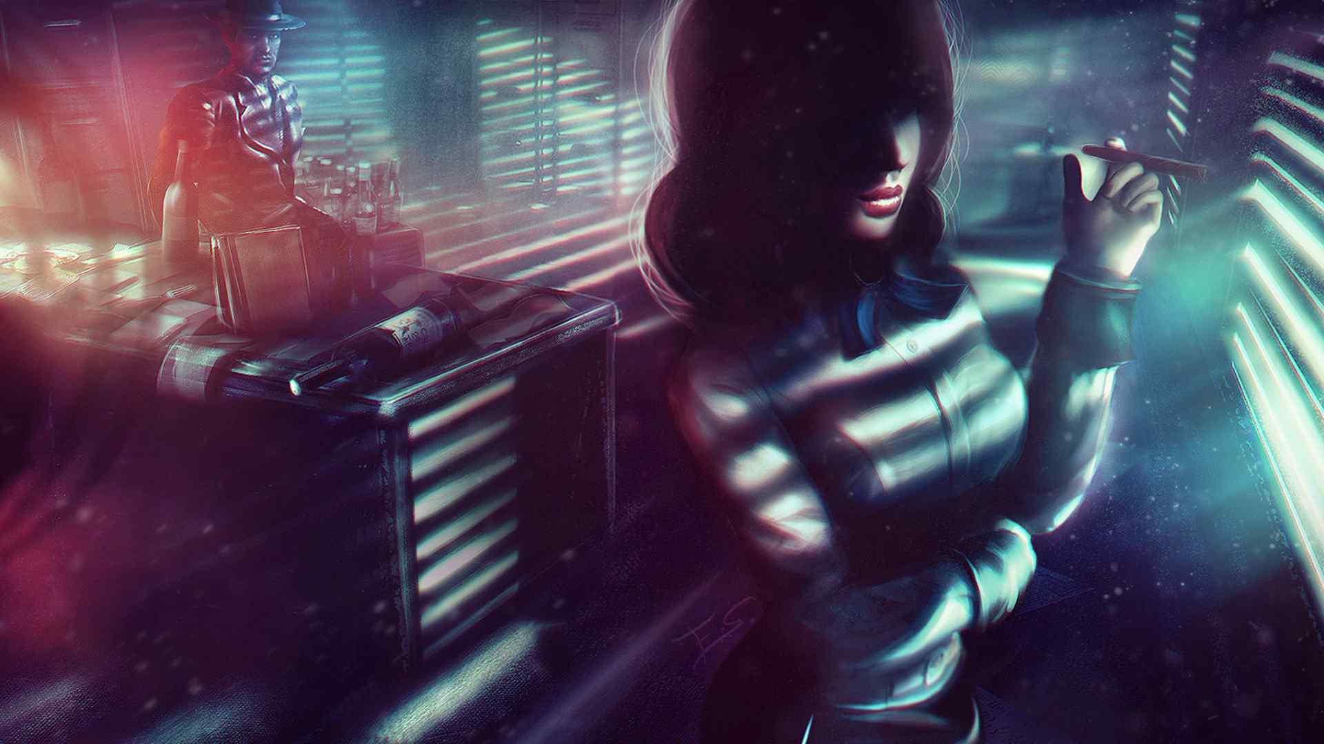 游戏人物精美cg图片高清桌面壁纸
