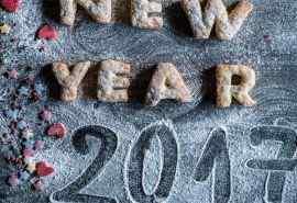 2017年新年创意桌面壁纸