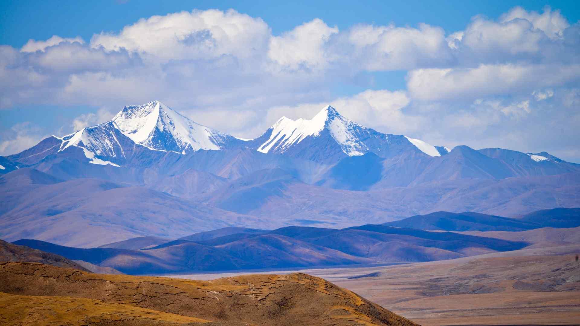 美丽的西藏阿里风景高清壁纸