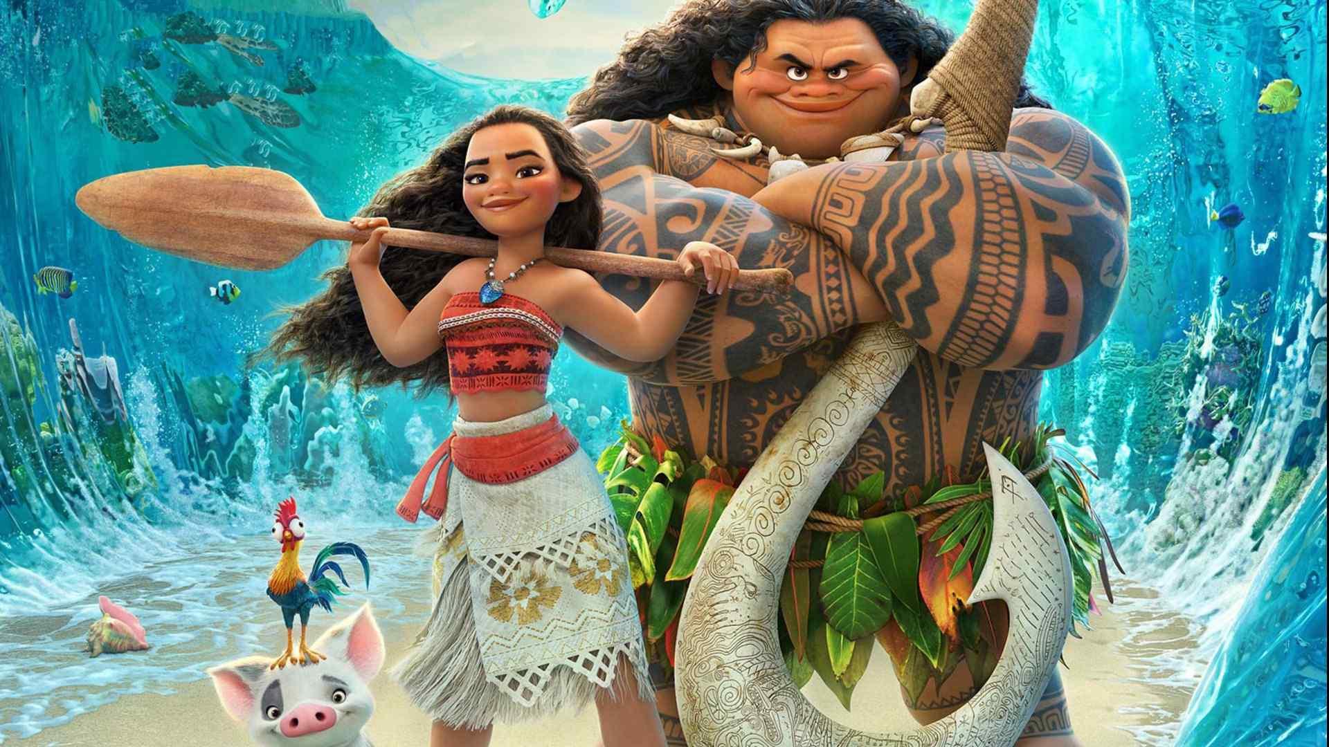 电影《海洋奇缘》动画高清桌面壁纸《海洋奇缘》(Moana)是一部由罗恩·克莱蒙兹和约翰·马斯克执导的迪士尼动画电影。该片讲述为了完成祖先未尽的冒险,一名少女远航出海遇见了曾拥有神力的半神Maui,两人结伴而行,踏上航海征途的故事。该片于2016年11月23日在北美上映,同年11月25日在中国上映。桌面天下为你推荐最新、最好看的壁纸,欢迎你的关注。