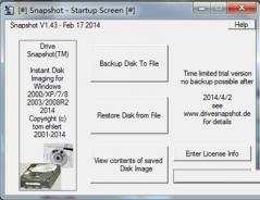 硬盘镜像备份(Drive SnapShot) v1.4绿色版下载
