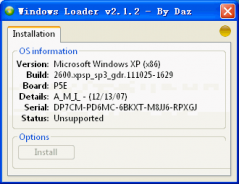 Windows Loader (win7激(ji)活工具) v2.2綠(lv)色版下(xia)載